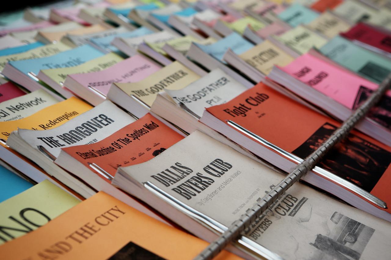 Les livres traduits en mode cinéma